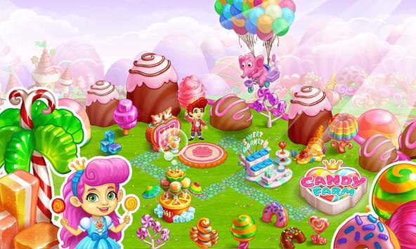 Sweet Candy Farm: Granja con Magia y Dulces Gratis captura de pantalla 4