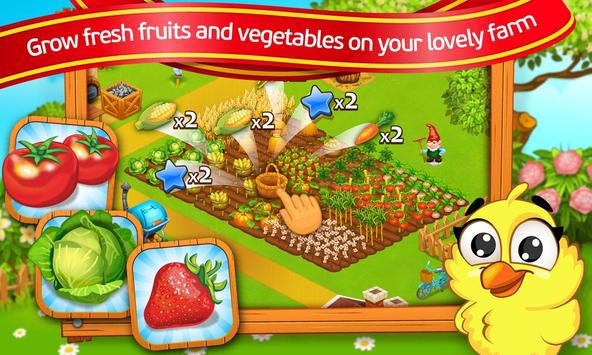 Farm Town: Cartoon Story captura de pantalla 10