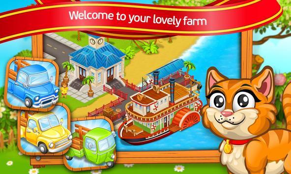Farm Town: Cartoon Story captura de pantalla 17