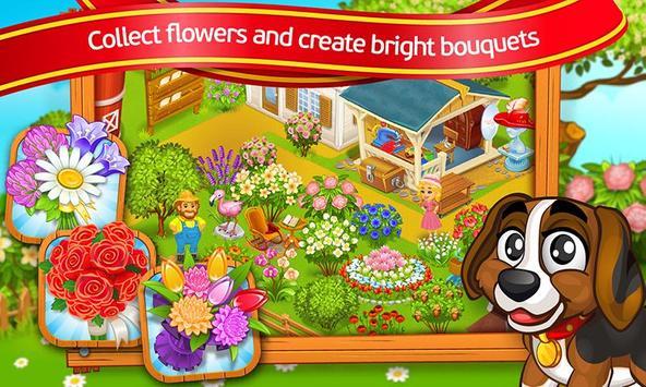 Farm Town: Cartoon Story captura de pantalla 2