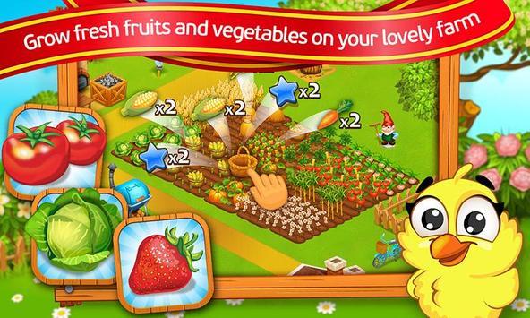 Farm Town: Cartoon Story captura de pantalla 4