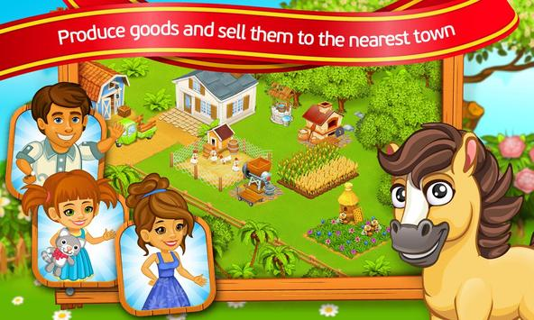 Farm Town: Cartoon Story captura de pantalla 9