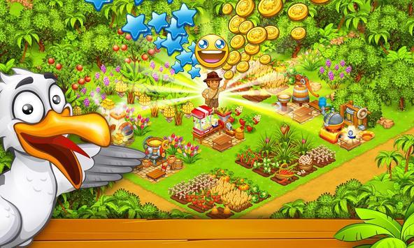天堂农场:幸运岛 海報