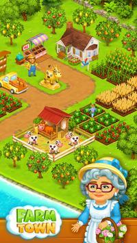 Farm Town: Happy village near small city and town apk screenshot