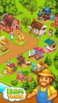 Farm Town: Happy farming Day & with farm game City apk screenshot