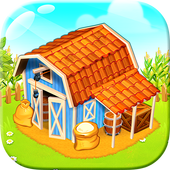 Farm Town: lovely pet on farm icon