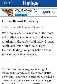 Forbes Middle East apk screenshot