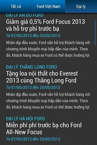 Ford Vietnam For Android Apk Download
