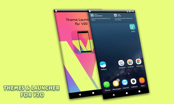 Theme Launcher For V20 ThemeKit apk screenshot
