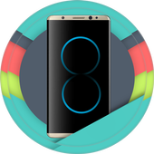 Theme & Launcher For Galaxy S8 icon