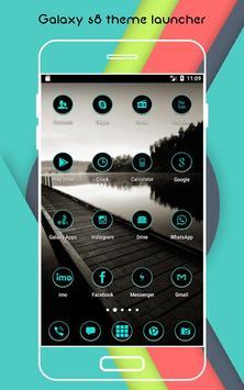 Theme & Launcher For Galaxy S8 apk screenshot