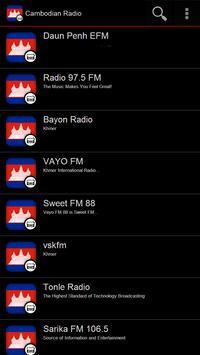 Cambodian Radio poster