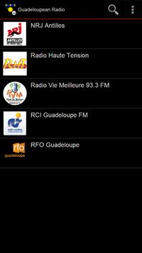 Guadeloupean Radio poster