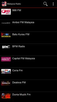 Malaysia Radio poster