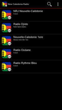 New Caledonia Radio poster