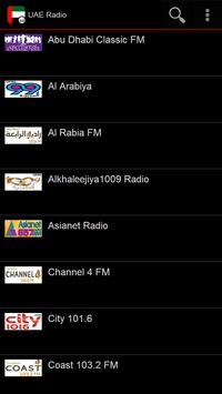 UAE Radio poster