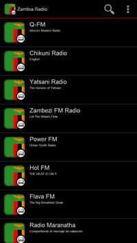 Zambia Radio poster