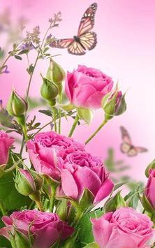 HD Rose Flowers Live Wallpaper Apk Screenshot