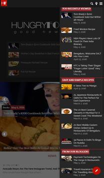 Hungryforever.com Food Blog apk screenshot