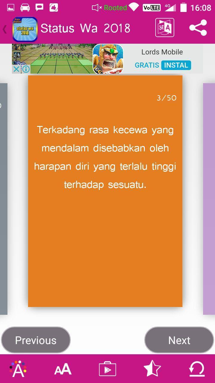 Kata Kata Bijak Untuk Wa Für Android Apk Herunterladen