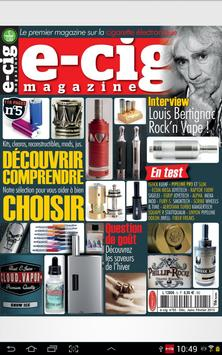 E-Cig Magazine screenshot 1