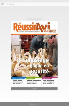 Réussir Aviculture poster