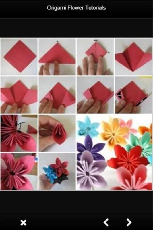 Origami Flower Tutorials For Android Apk Download