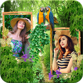 Forest Dual Photo Frames icon