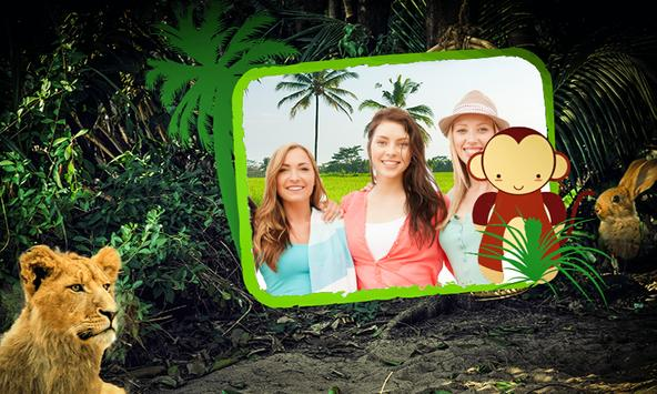 Jungle (Forest) Photo Frames HD poster