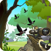 Jungle Crow Hunting Adventure: Sniper Mission icon
