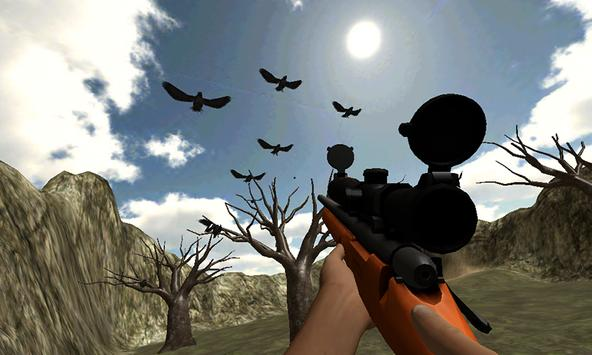 Jungle Crow Hunting Adventure: Sniper Mission apk screenshot