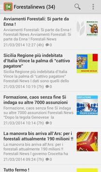 Forestali News apk screenshot