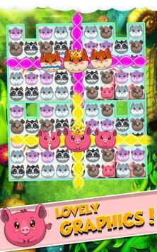 Forest Rescue: Animals Match 3 screenshot 1