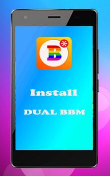 Dual BBM™ Android poster
