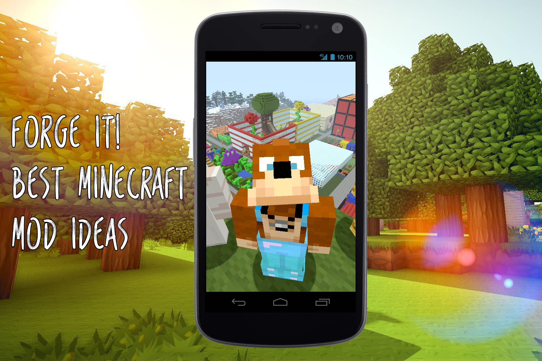 Minecraft Forge - The Ideas for Android - APK Download