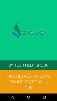 CNG LPG Filling Stations poster