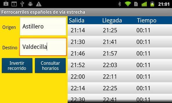 FEVE Schedules screenshot 1
