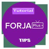 new forja plus live tv tutorial icon