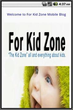 For Kid Zone poster