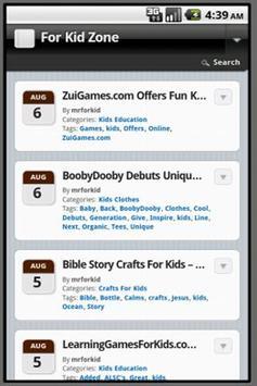 For Kid Zone screenshot 1