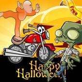 Bheem halloween motorcycle icon