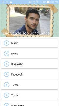 Eric Saade: Top Songs & Lyrics poster