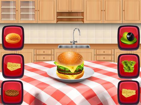 Burger making game for kids screenshot 9