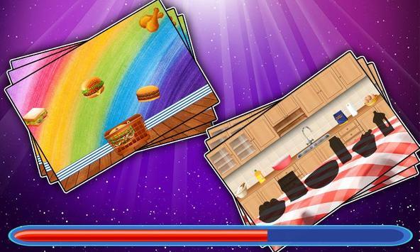 Burger making game for kids screenshot 2