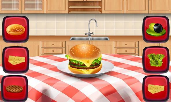 Burger making game for kids screenshot 3