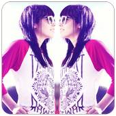 Insta Mirror Photo Effect icon