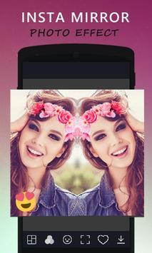 Insta Mirror Photo Effect poster