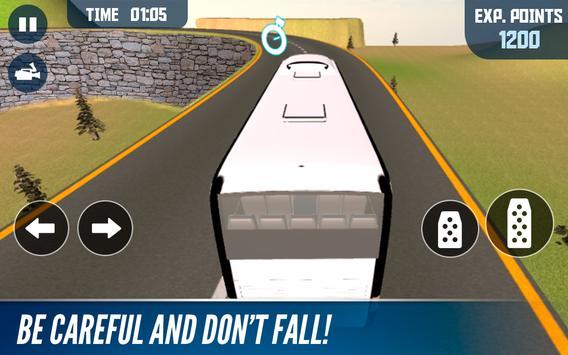 Mountain Bus simulator स्क्रीनशॉट 8