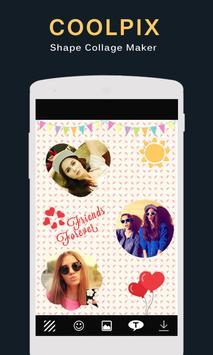 Coolpix : Shape Collage Maker poster