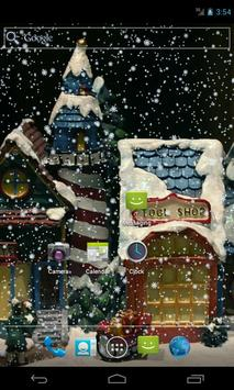 Accelerated Snow Wallpaper apk screenshot